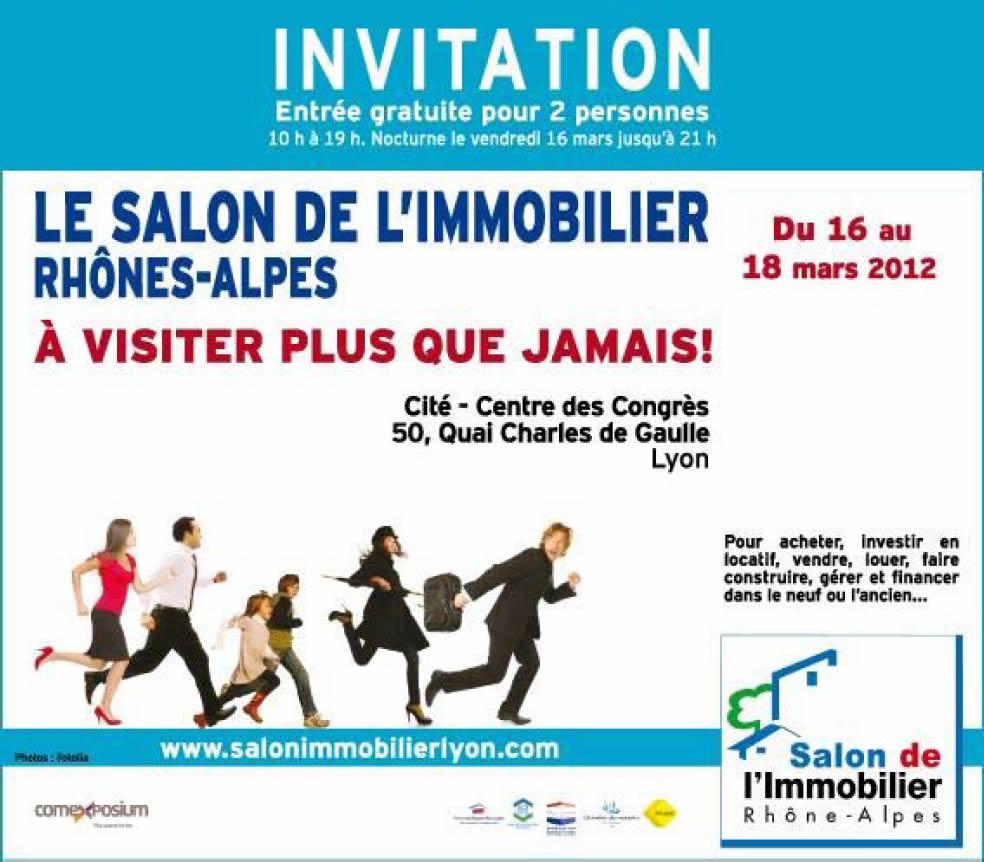 Salon de l'immobilier 2012 à Lyon