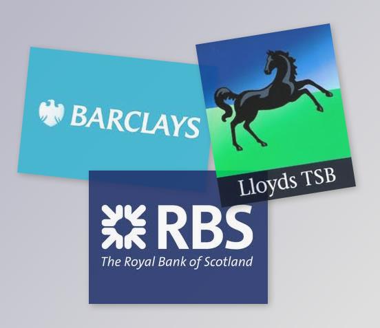 3 grandes banques britanniques en mauvaise posture!