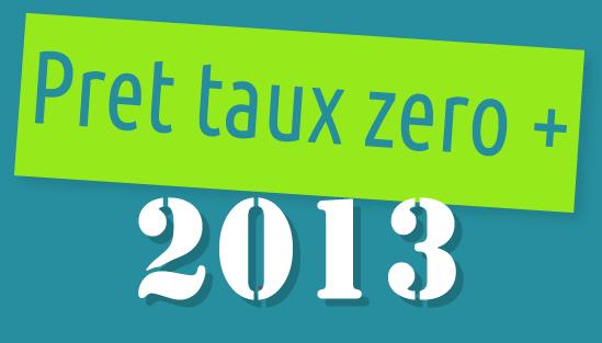 Le PTZ+ en 2013
