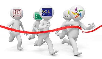 La compétition entre les banques et les compagnies d'assurance prêt immobilier
