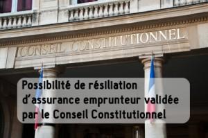 Crédit immobilier : la possibilité de résiliation d'assurance emprunteur validée par le Conseil Constitutionnel