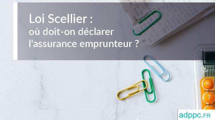 Loi Scellier Assurance emprunteur