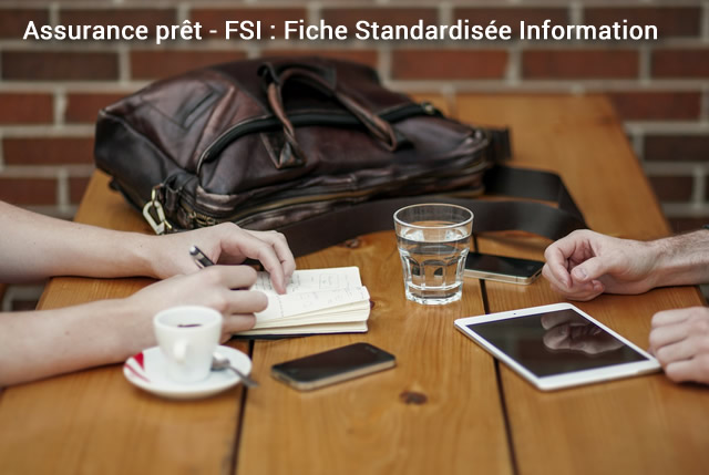 assurance pret fiche standardise d'information