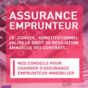 Assurance emprunteur résiliation annuelle