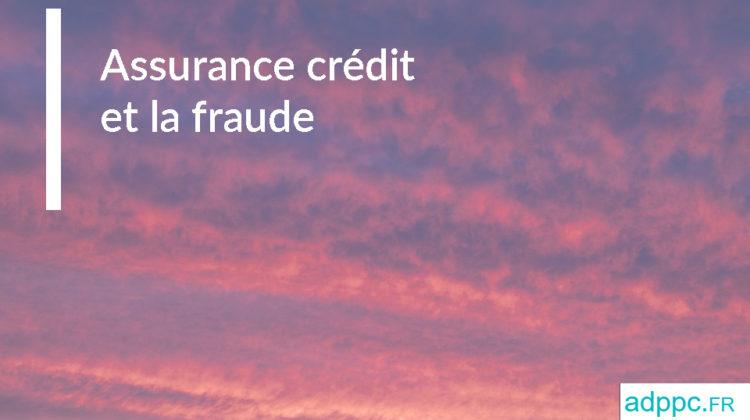 Assurance credit immobilier fraude