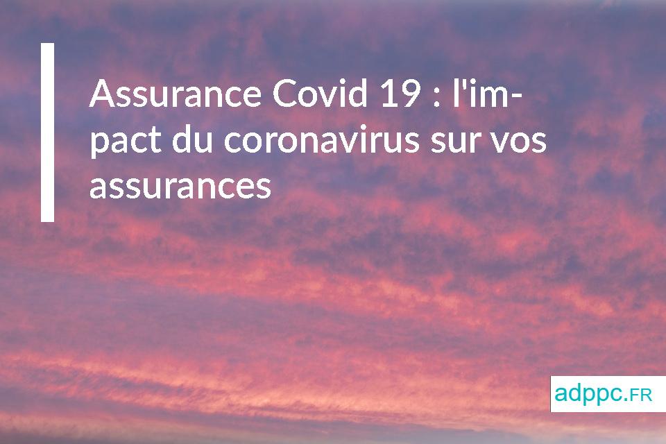 Assurance Covid 19