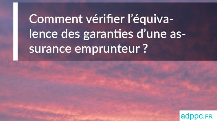 équivalence des garanties