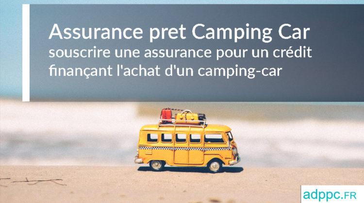 Assurance pret Camping Car
