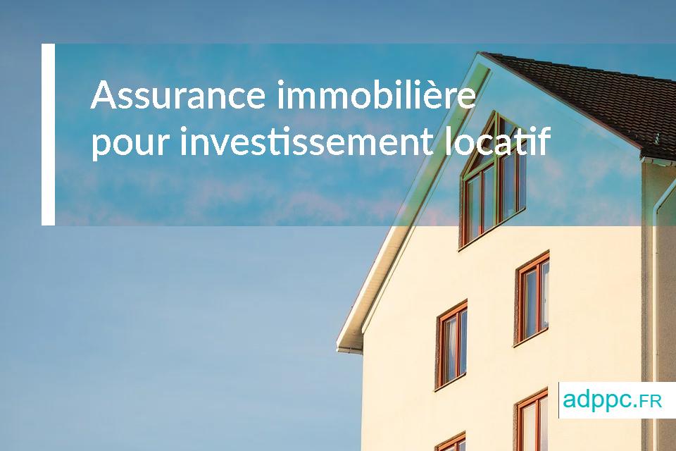 assurance pret investissement locatif