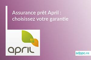 assurance pret april