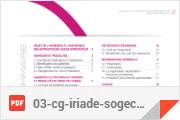 Oradea Vie Iriade Emprunteur Conditions générales Conditions générales