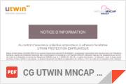 Utwin Mncap Conditions générales