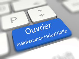 ouvrier de maintenance industrielle