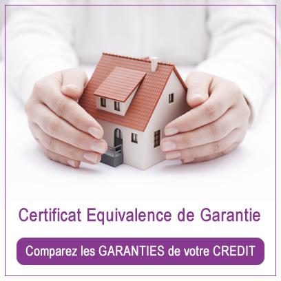 Certificat d'équivalence garanties