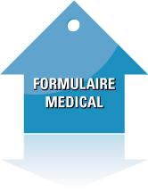 Formulaire medical contrat assurance pret